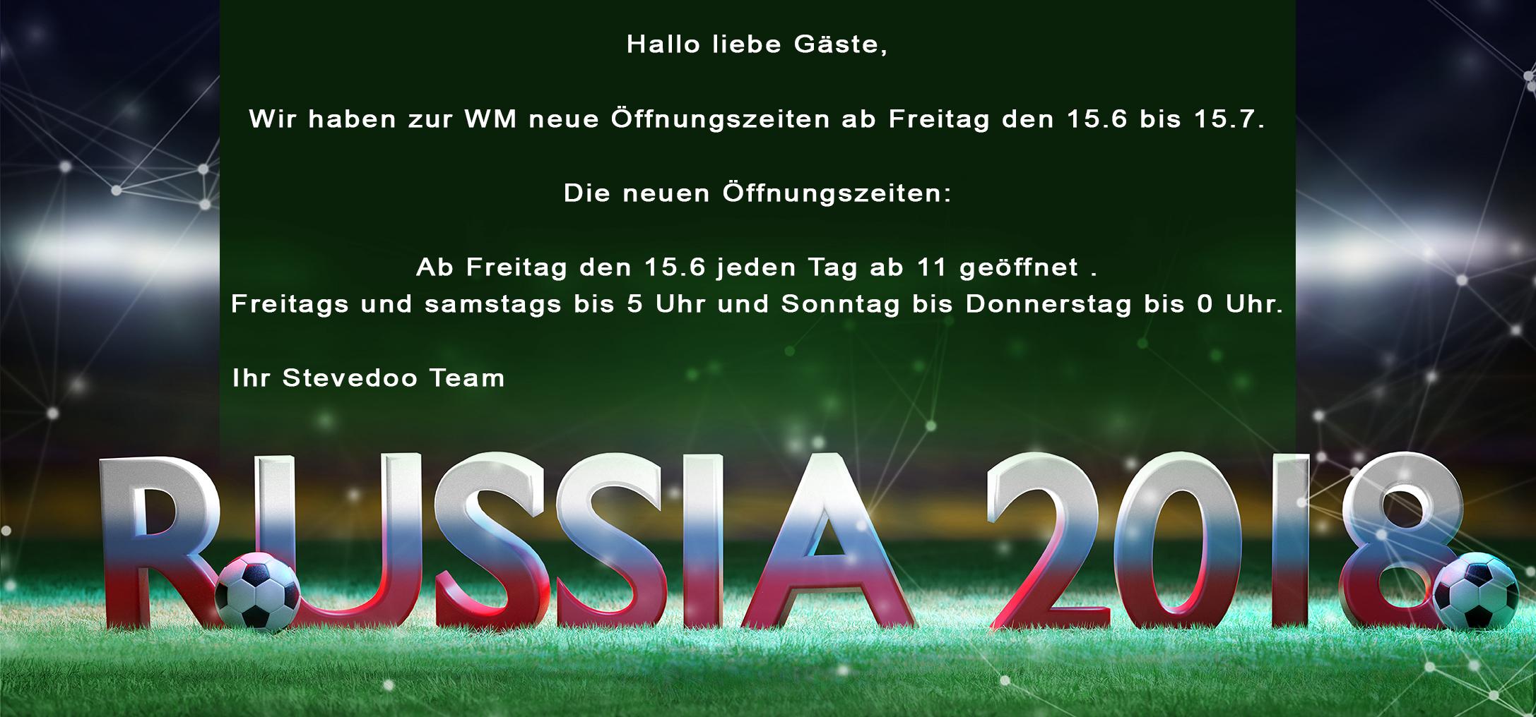 Weltmeisterschaft 2018 Live in Frankfurt