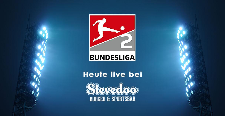 2.Bundesliga live bei Stevedoo Sportsbar in Frankfurt