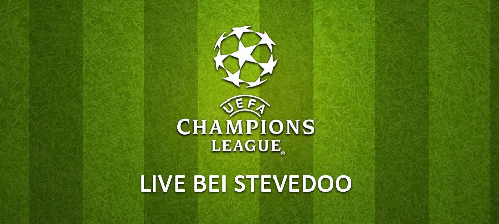 UEFA Champions League live bei Stevedoo